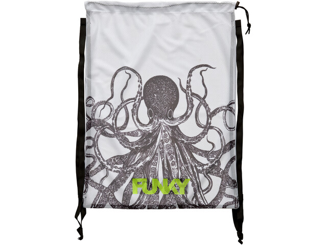 Funky Trunks Mesh Gear Bag, octopussy